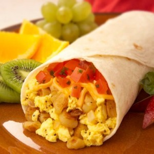 Mic dejun Burritos